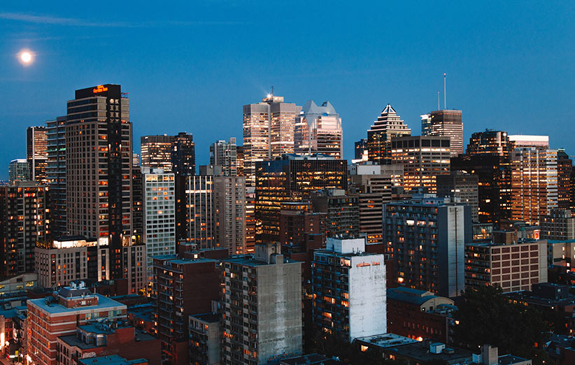 شهر مونترآل کانادا