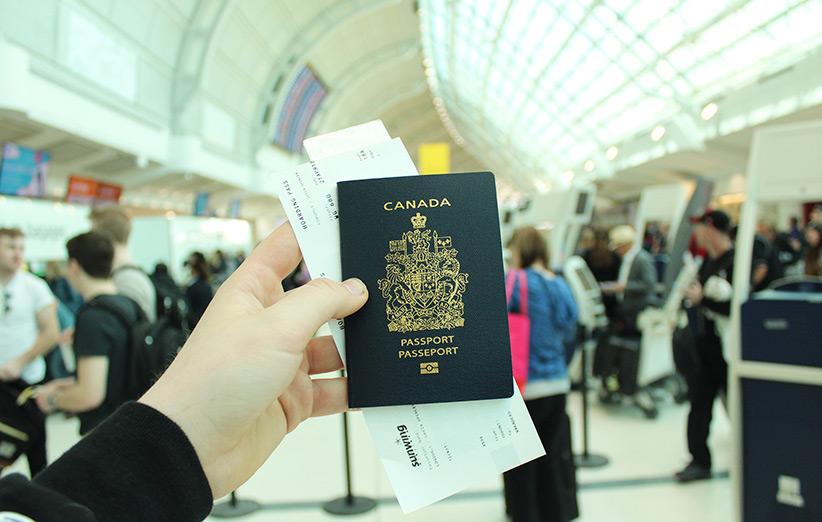 تصویر پاسپورت کانادا