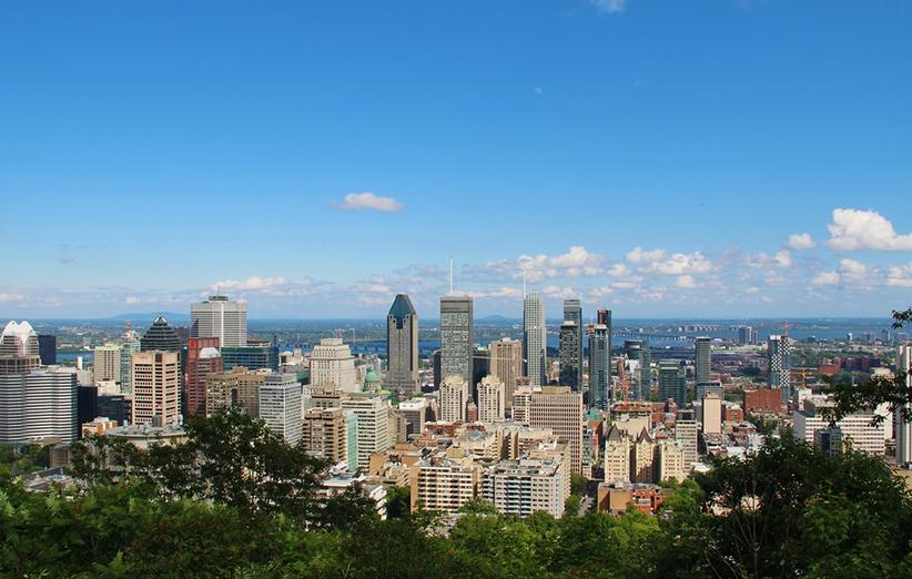 تصویری از شهر کبک کانادا