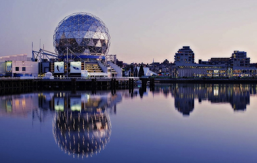 تصویری از شهر ونکوور کانادا