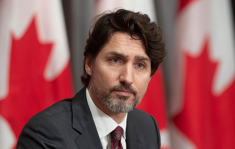 تصویری از نخست وزیر کانادا