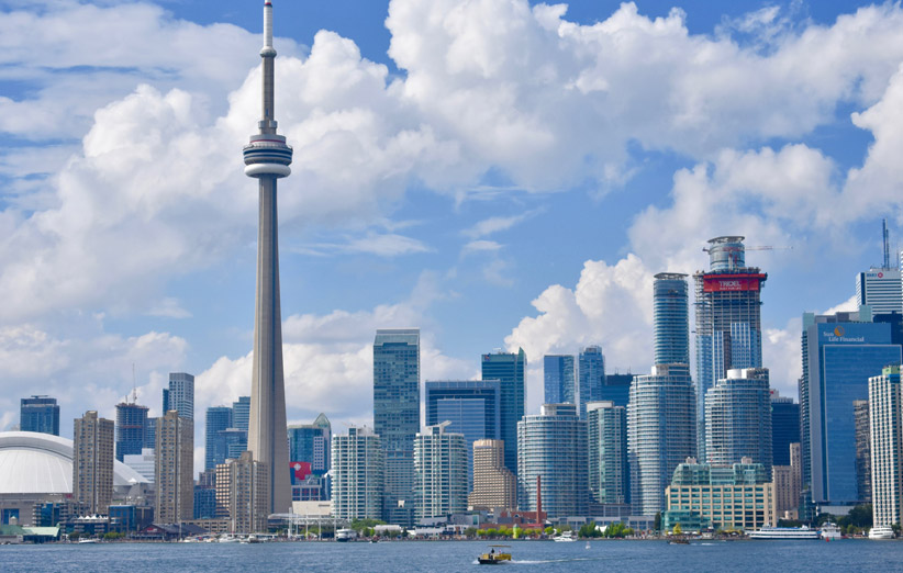 تصویر شهر تورنتو کانادا